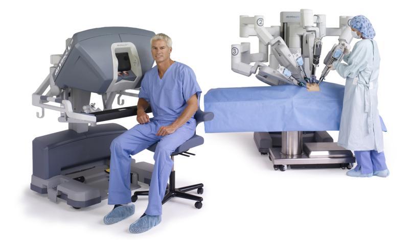 cirugía con robots