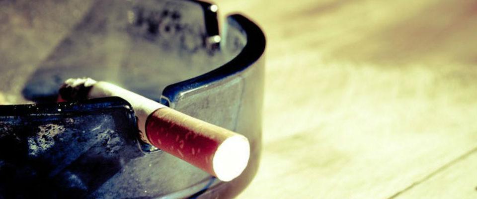 cigarro en cenicero blog