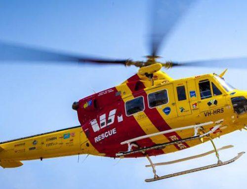 Helicópteros de rescate y las exigencias de su personal sanitario