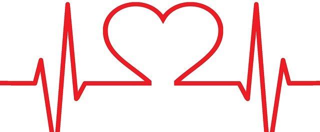 dibujo de electro cardiograma de un corazón